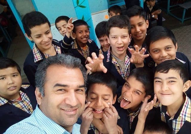 Nader Musavi students